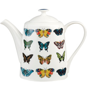 Amazilia Papilio Maple Fine Bone China Teapot (BOXED)