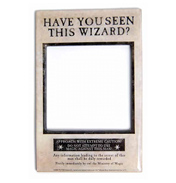 Have You Seen This Wizard? Magnetic Photo Frame