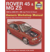 Haynes Rover 45 MG ZS Manual