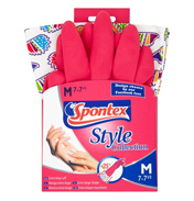 Style Collection Hedgehog Edition Rubber Cleaning Gloves