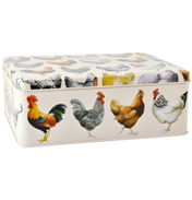 Hens Deep Rectangular Tin