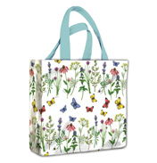 Herbs & Butterflies PVC Mini Gusset Bag