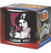 "Star Wars Princess Leia & Han Solo ""I Love…"