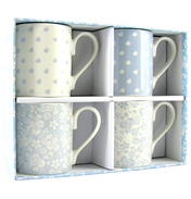 Julie Dodsworth Cafe Riverside Larch Mug Gift Set