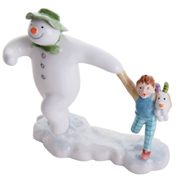 John Beswick Comic Snowman Taking Off!