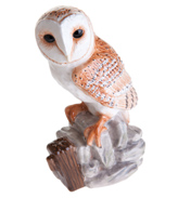 John Beswick Barn Owl Hand Painted Ceramic…
