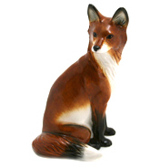 Fox, Sitting