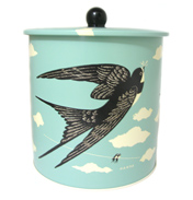 John Hanna Country Fair Biscuit Barrel