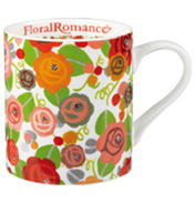 Julie Dodsworth Floral Romance Fine Bone China Mug