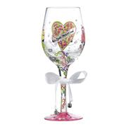 Lolita Just Married Wedding Wine Glass