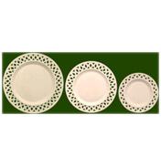 Open Work Plates