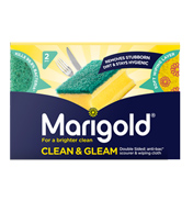 Marigold Clean & Gleam Scourer & Wiping…