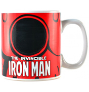 Marvel Comics Iron Man Heat Changing 400ml Ceramic…
