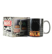 Marvel Comics Hulk 400ml Heat Changing Mug (Boxed)