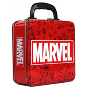 Marvel Logo Tin Tote Square Box