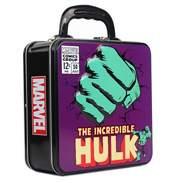 The Incredible Hulk Classic Tin Tote Square Box