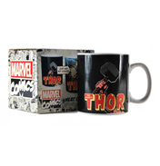 Marvel Comics Thor 400ml Heat Changing Mug (Boxed)