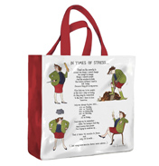In Times Of Stress PVC Medium Gusset Bag