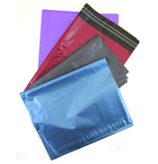 Blue Metallic Mailing Bags 430 x 560 single