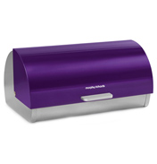 Accents Plum Roll Top Bread Bin