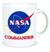 NASA Commander 350ml Ceramic Mug