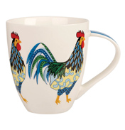 Paradise Birds Rooster Crush Mug 500ml