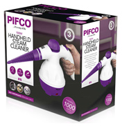 Pifco Handheld 1000W Steam Cleaner