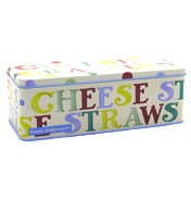 Polka Dot Cracker Tin