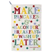 Polka Dot Pancakes and Bacon Tea Towel