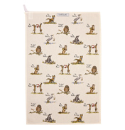 Assorted Characters Tea Towel