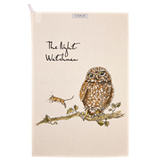The Night Watchman Tea Towel