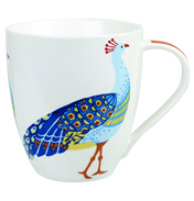 Peacock Crush Mug 500ml