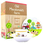 Queens Little Rhymes Old McDonald 3 Piece Melamine…