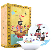 Pirates 3 Piece Melamine Set