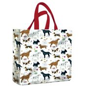 Samuel Lamont Dog Breeds PVC Medium Gusset Bag