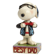 Fathers Day Snoopy in a Tie