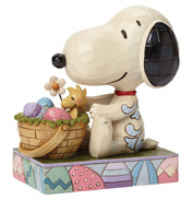 "Schulz Peanuts ""Hooray For The Easter Beagle"" Figurine"