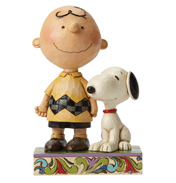Schulz Peanuts Life Is Better With A Dog Figurine