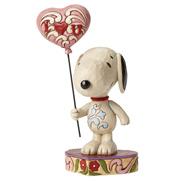 "Schulz Peanuts Snoopy ""I Heart U"" Figurine"