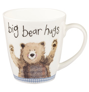 Big Bear Hugs Sparkle Cherry Mug 360ml