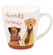 Alex Clark Sparkle Cherry Mug Friends Forever 360ml