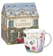 Her Ladyship Squash Mug 400ml in Gift Box