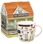 The Cricketer Squash Mug 400ml in Gift Box