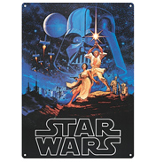A New Hope Large Tin Sign