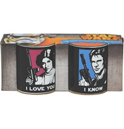 Star Wars Han Solo & Princess Leia MINI Mug…