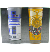 Star Wars R2D2 & C-3PO Set of Two Drinking…