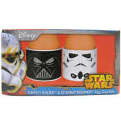 Darth Vader & Stormtrooper Set of 2 Egg Cups
