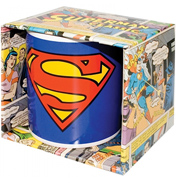 Superman Classic 350ml Boxed Logo Mug
