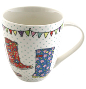 The Caravan Trail Festival Wellies Crush Mug