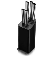 Tower Edge 5 Piece Knife Set in BLACK
